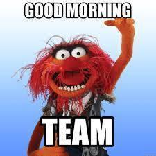 Good morning Muppet