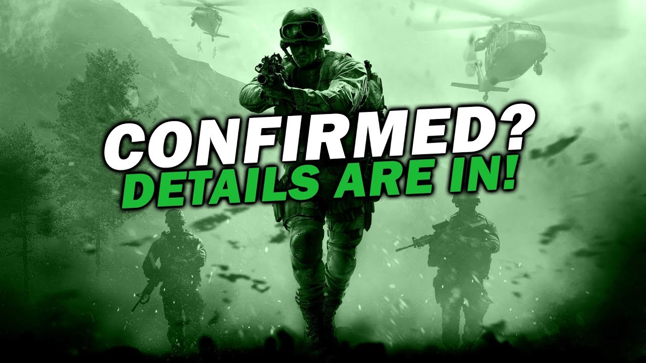 COD 2019 OFFICIALLY TEASED! MW4 Info, Campaign Confirmed, More!