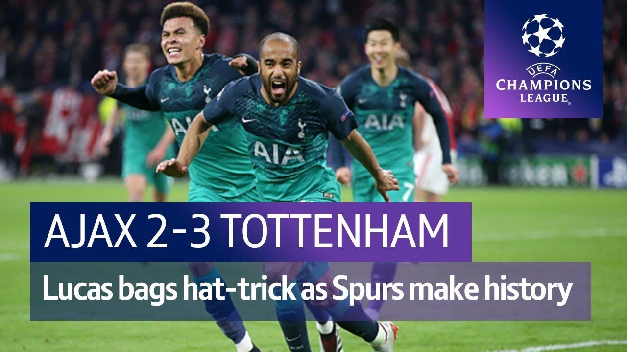 Ajax vs Tottenham (2-3) | UEFA Champions League Highlights